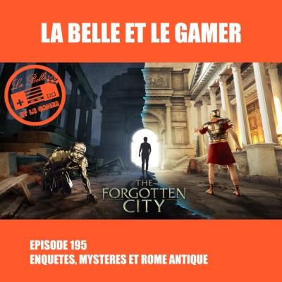 Episode 195: Enquêtes, mystères et Rome Antique cover