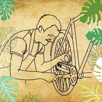 REcyclotour, étape 1: Le vélo vintage, ça roule cover