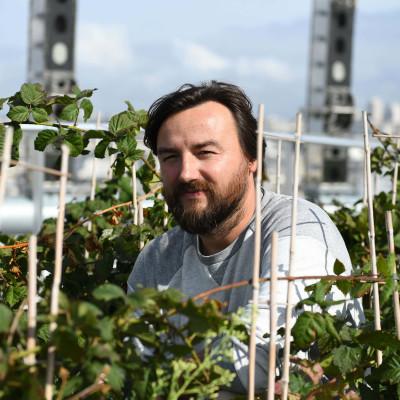 S01E08  Créer des potagers... sur les toits ! Frédéric Madre (écologue, fondateur de Topager) cover