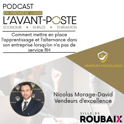 Nicolas Morage David - Vendeur d'Excellence cover