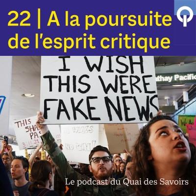 #22 A la poursuite de l'esprit critique cover