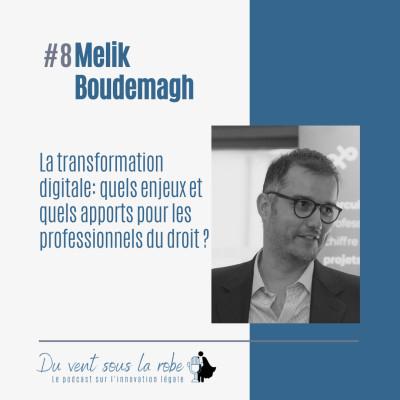 Melik Boudemagh - La transformation digitale : quels enjeux et quels apports pour les professionnels du droit ? cover