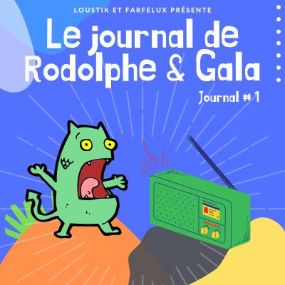 Le Journal de Rodolphe et Gala #1 cover