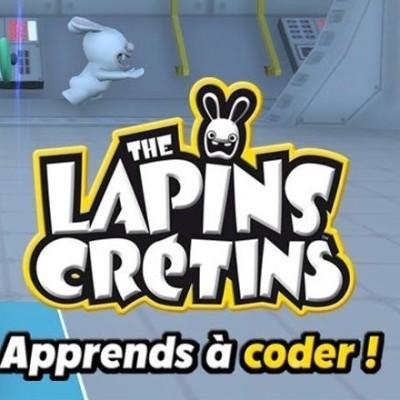 """16 oct 19 - """"Lapins crétins, Appprends à coder"""", Festival Numok, Festival L'Envol cover"""
