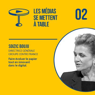 Soizic Bouju (Groupe Centre France) - Moderniser et réinventer le papier tout en  innovant sur le digital cover