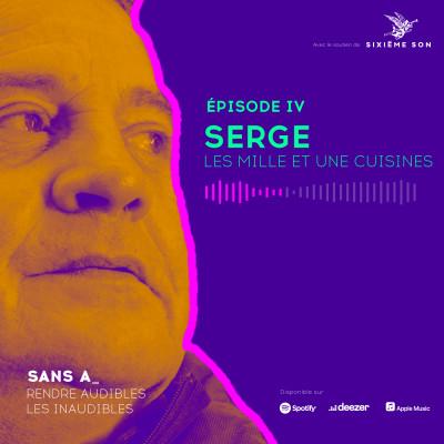 #4 - Serge, les mille et une cuisines cover