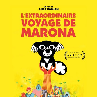 "08 janv 20 :  Anca Damian, réalisatrice de ""L'incroyable voyage de Marona"" cover"