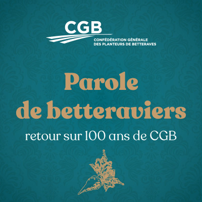 Parole de betteraviers – retour sur 100 ans de CGB cover