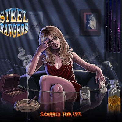 Podcast - Interview avec Nico du groupe Steel Rangers - 05 06 2021 cover