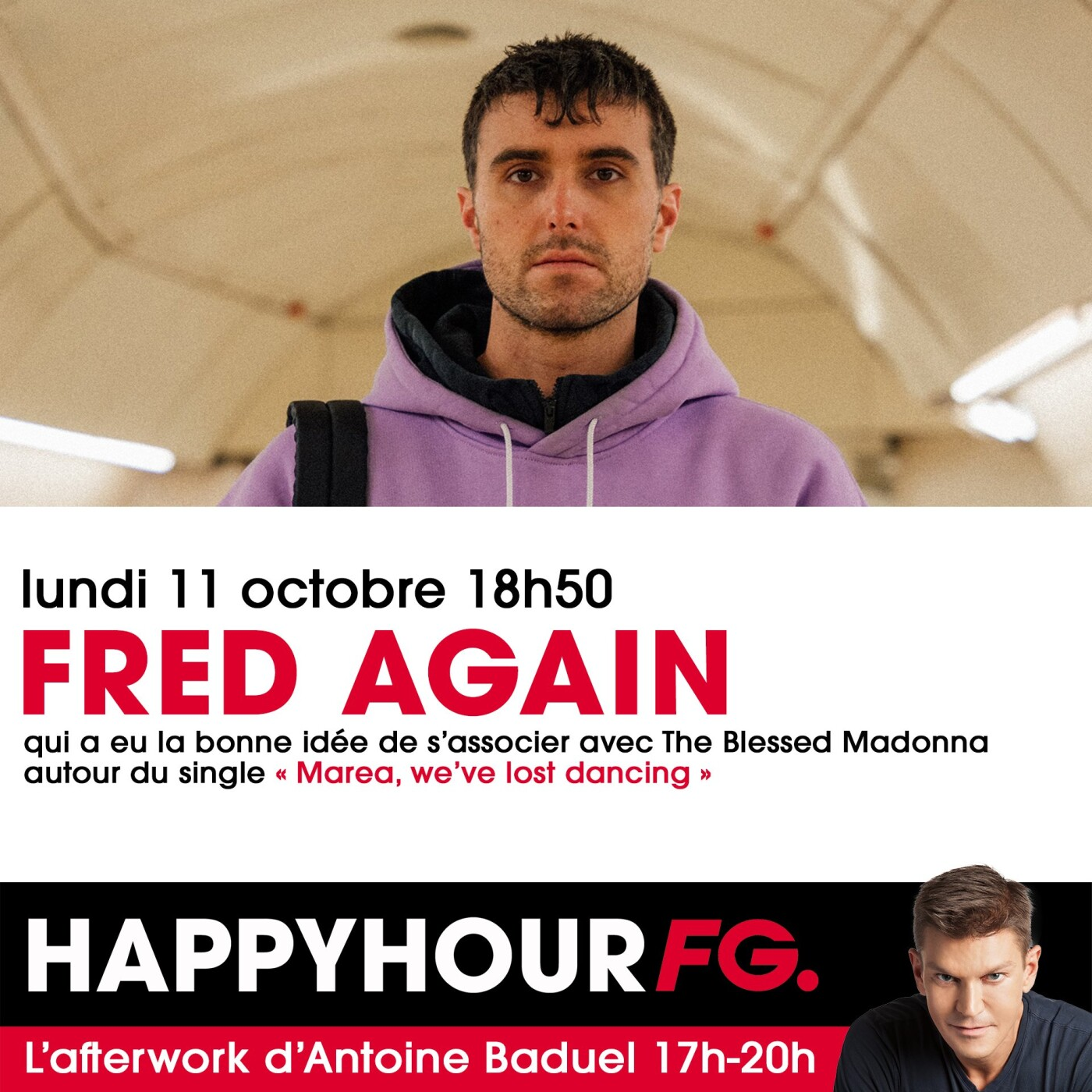 HAPPY HOUR INTERVIEW : FRED AGAIN