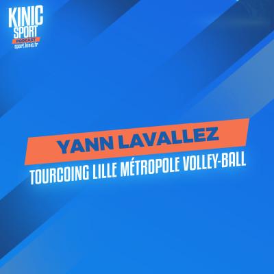 #19 - Yann Lavallez : Tourcoing Lille Métropole Volley cover