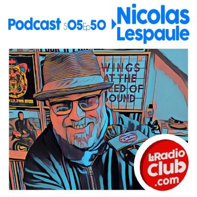 Thumbnail Image S05Ep50 PodCast LeRadioClub  avec Nicolas Lespaule