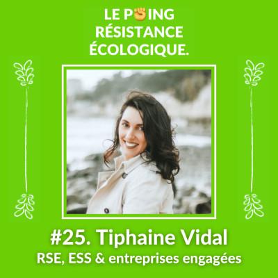25. Tiphaine Vidal - RSE, ESS & entreprises engagées cover