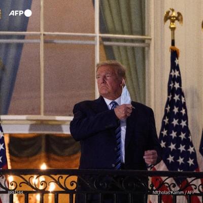Trump, le Covid et les autres cover