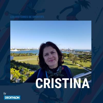 """#6 Marche Sportive - Cristina - """"Pour moi, la marche, c'est le bonheur......"""" cover"""