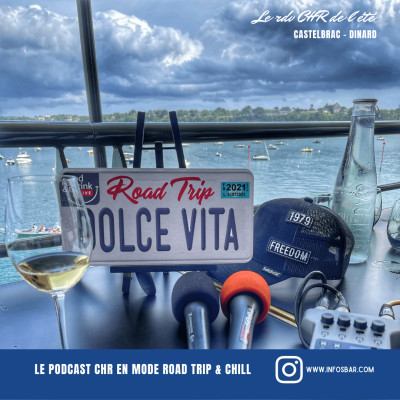Dolce Vita Road Trip - Food & Drink Live x Castelbrac - Dinard cover