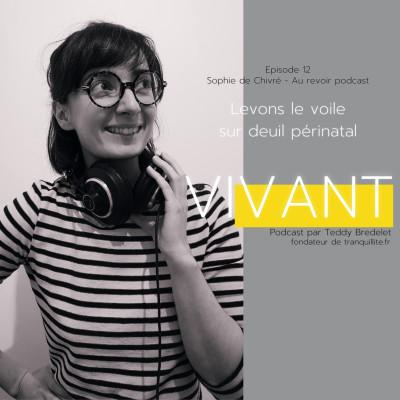 """EPISODE 12 (2/2) - Aurevoir podcast """"Levons le voile sur le deuil périnatal"""" cover"""