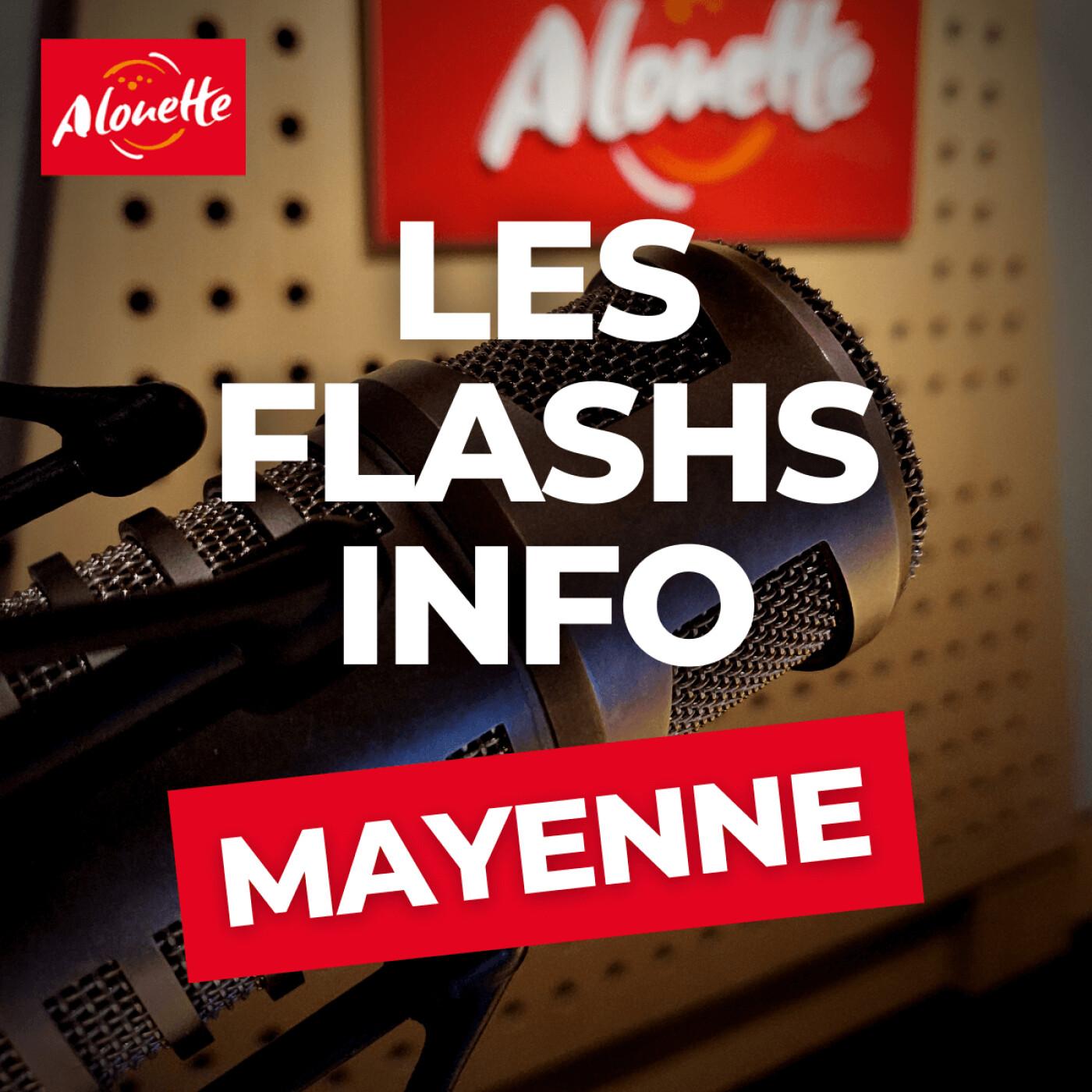 Alouette - Les Infos du 28 Septembre 16h00 en Mayenne.