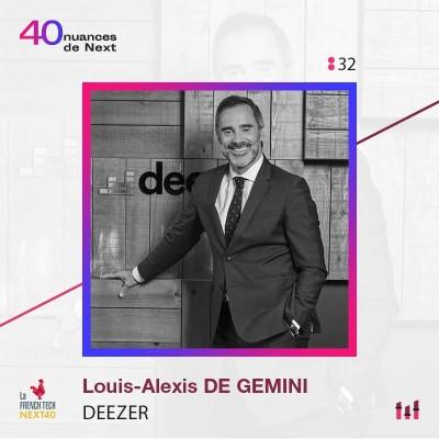 :32 Part 1 - Louis-Alexis de Gemini - Deezer : Du site pirate au plus grand catalogue mondial cover