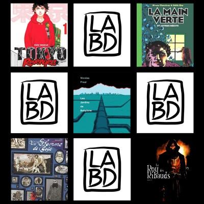 N°2 : Podcast de la librairie LaBd Lyon 04 cover