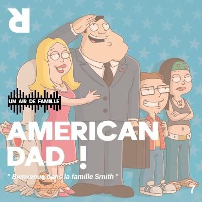 Un Air de Famille #7:  American Dad cover