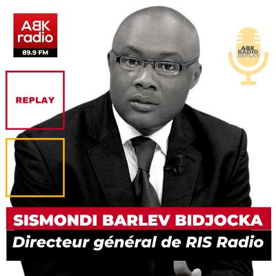 """Sismondi Barlev Bidjocka: """"Dans l'éditorial que j'ai commis, J'ai parlé des ministères."""" cover"""