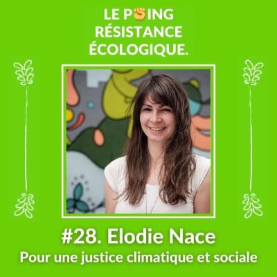 28. Elodie Nace - Pour une justice climatique et sociale cover