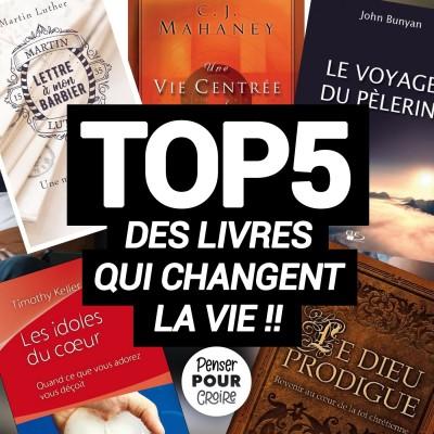 5 livres à lire ABSOLUMENT !! Podcast Penser pour Croire cover