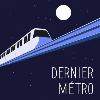 DERNIER MÉTRO #5 cover