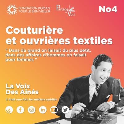 Episode 4 : Couturière et ouvrières textiles cover