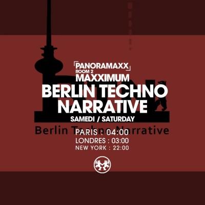 PANORAMAXX : BERLIN TECHNO NARRATIVE cover