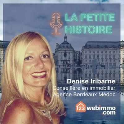 La petite histoire 123webimmo.com - EP 11 avec Denise de l'agence de Bordeaux Médoc cover