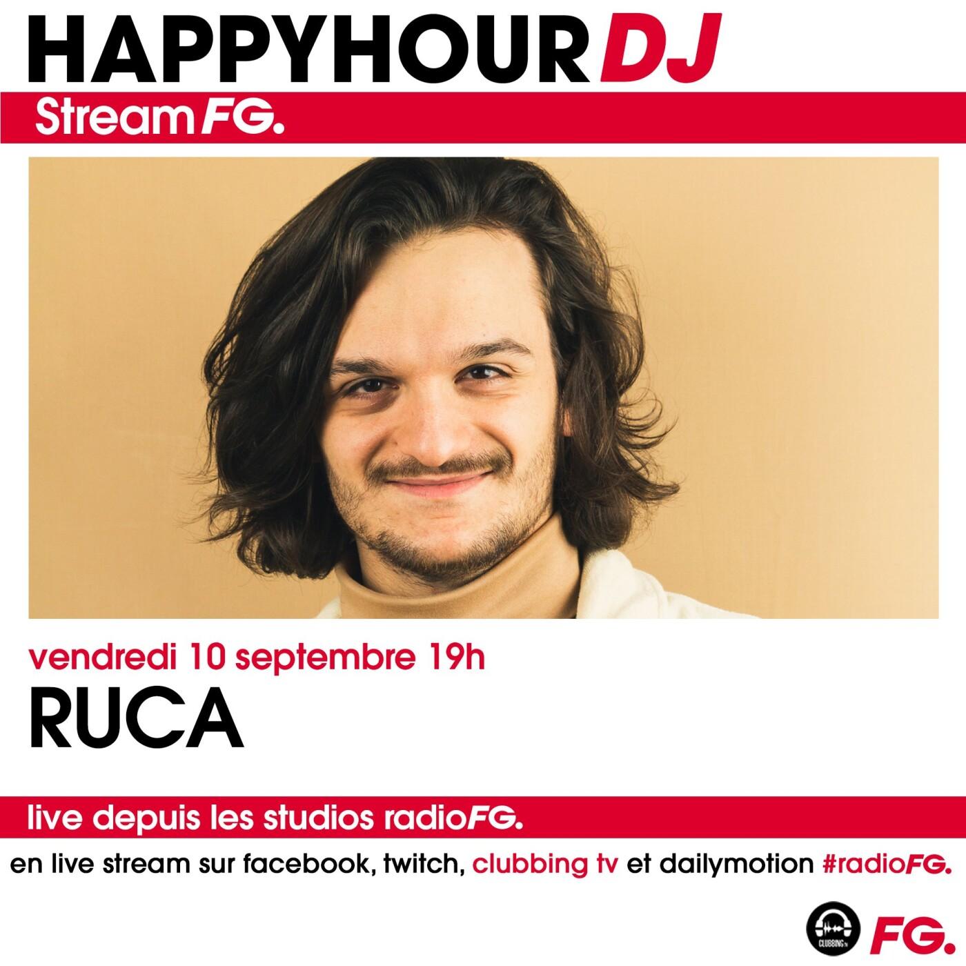 HAPPY HOUR DJ : RUCA