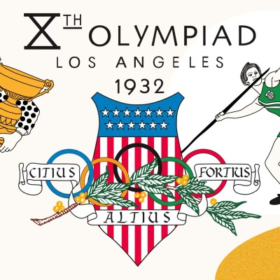 Jeux Olympiques 1932 - Los Angeles cover
