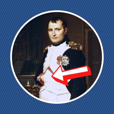 Pourquoi Napoléon plaçait-il sa main dans son gilet ? cover