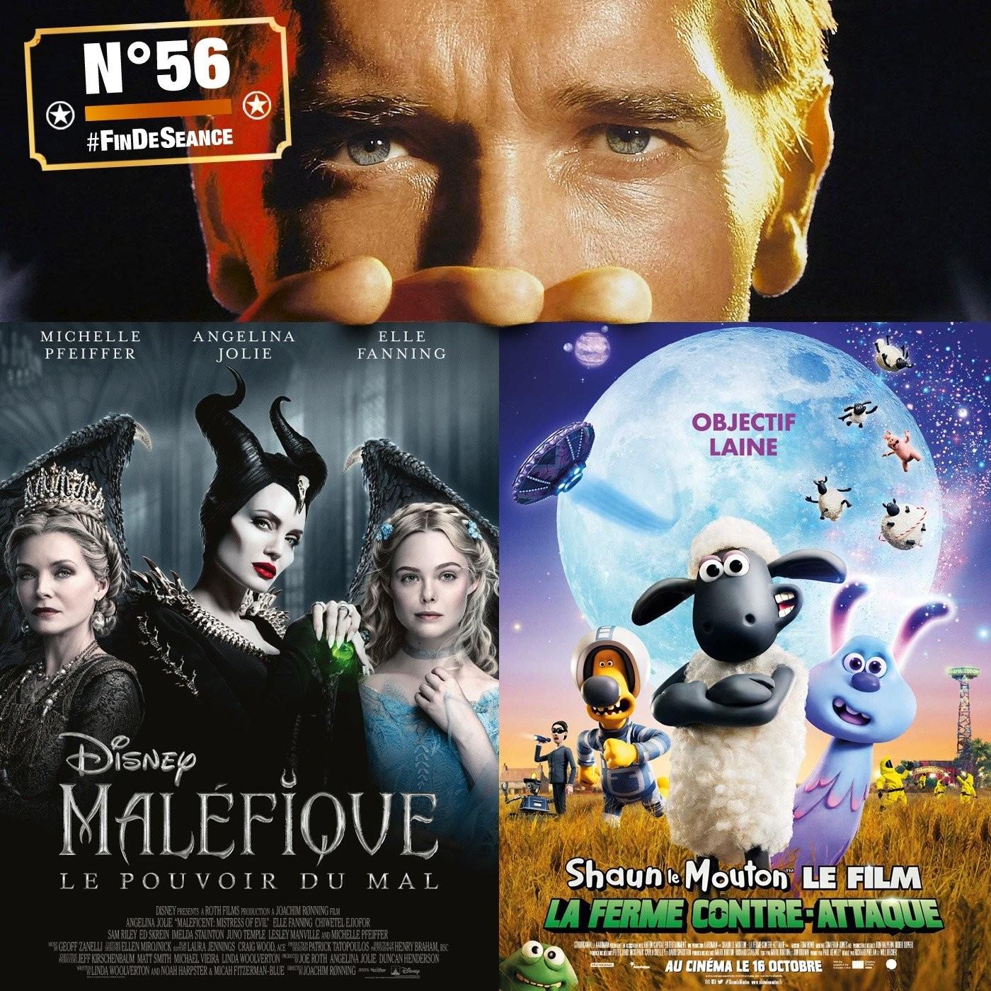 #56 MALÉFIQUE 2 & SHAUN LA FERME CONTRE-ATTAQUE : Disney-moi un mouton !