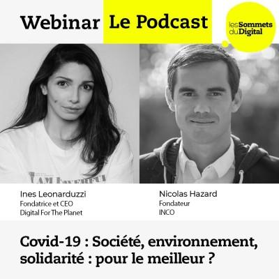Covid-19 : société, environnement, solidarité : pour le meilleur ? cover