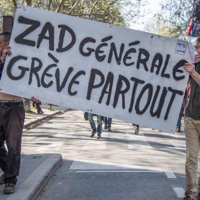 image Manif du 19 avril : Zad Générale ! Grève partout !