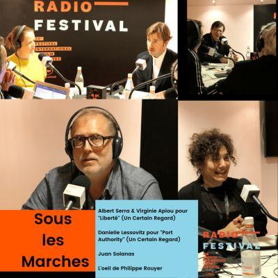 Albert Serra, Danielle Lessovitz et Juan Solanas - 20 mai 2019 cover