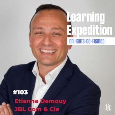 #103 - Etienne Demouy /// Euracom', un projet de pôle d'excellence dédié au secteur de la communication - JBL Com & Cie cover