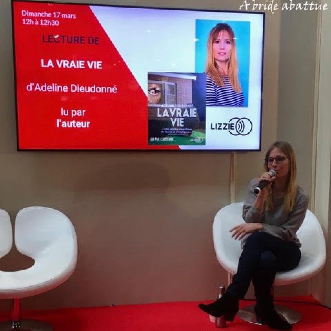 Entre Voix Confinés avec Adeline Dieudonné (08/05/20)