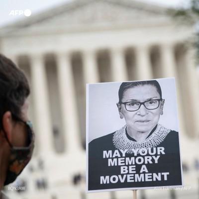 RIP RBG : l'Amérique chamboulée par la mort d'une juge cover