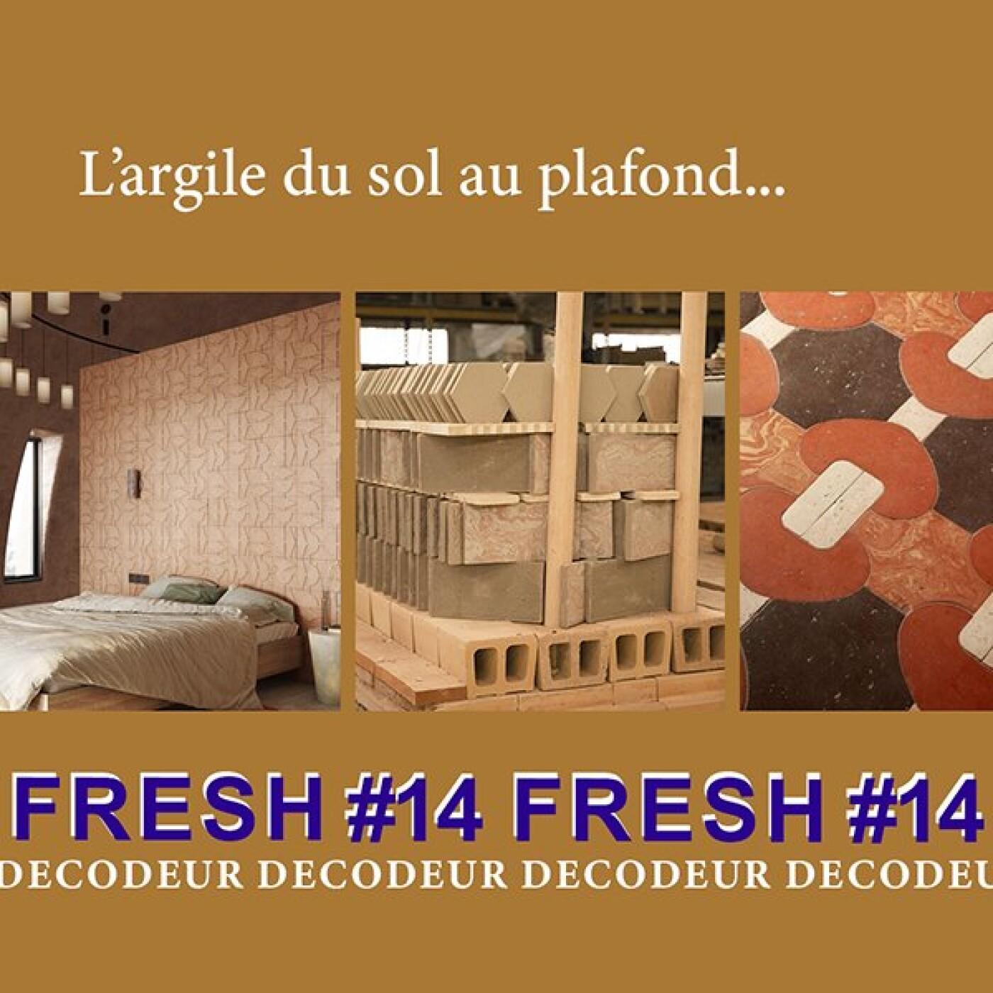 FRESH #14 la tendance déco du mois : l'argile du sol au plafond
