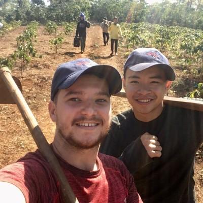 Roland, Volontaire Bambou au Laos - 2020 cover