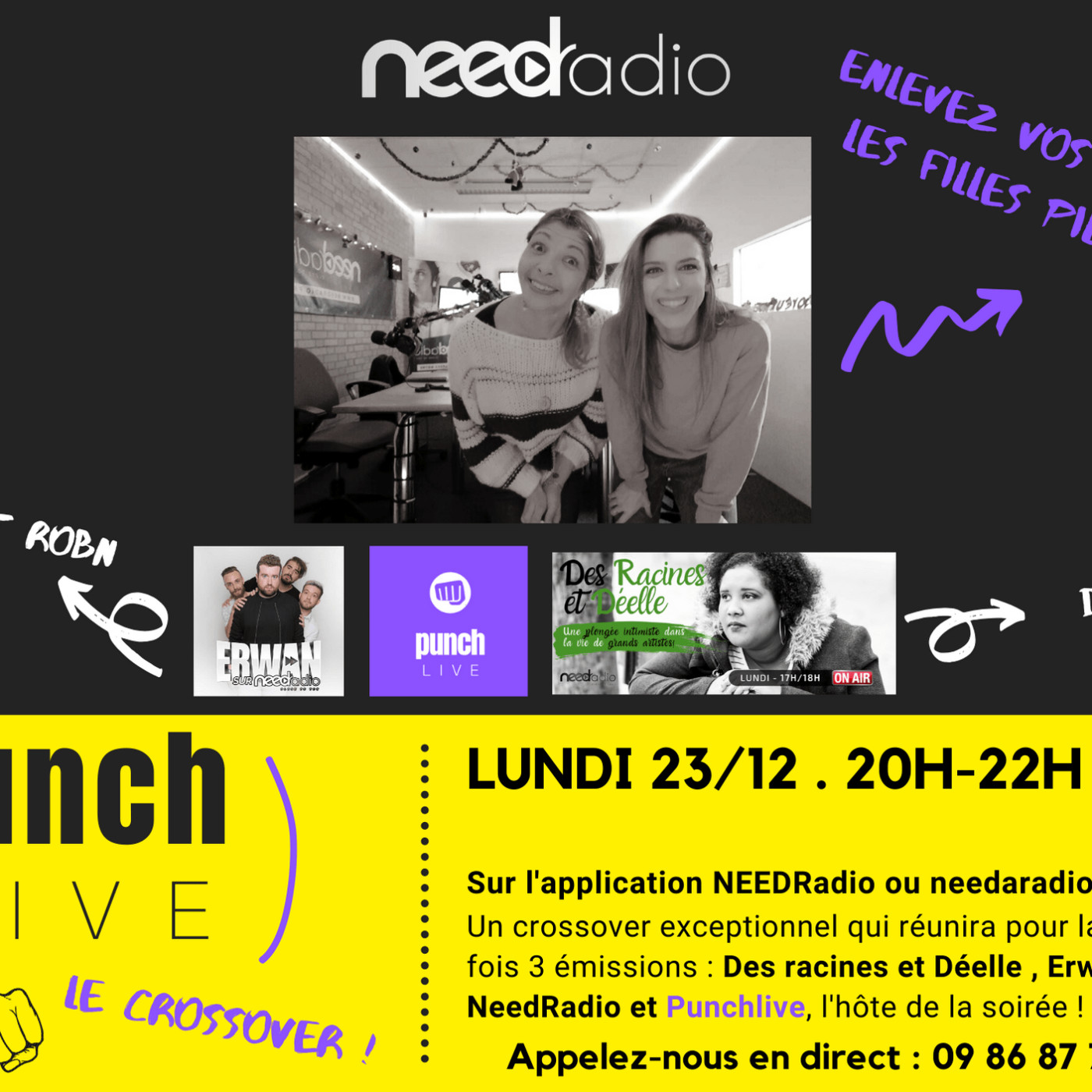 Punch Live Spéciale Crossover (23/12/19)