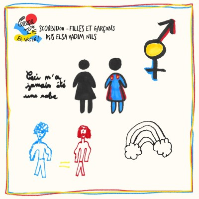 Scoubidou avant montage ✂️ Filles et garçons avec Iris, Elsa, Vadim et Nils cover
