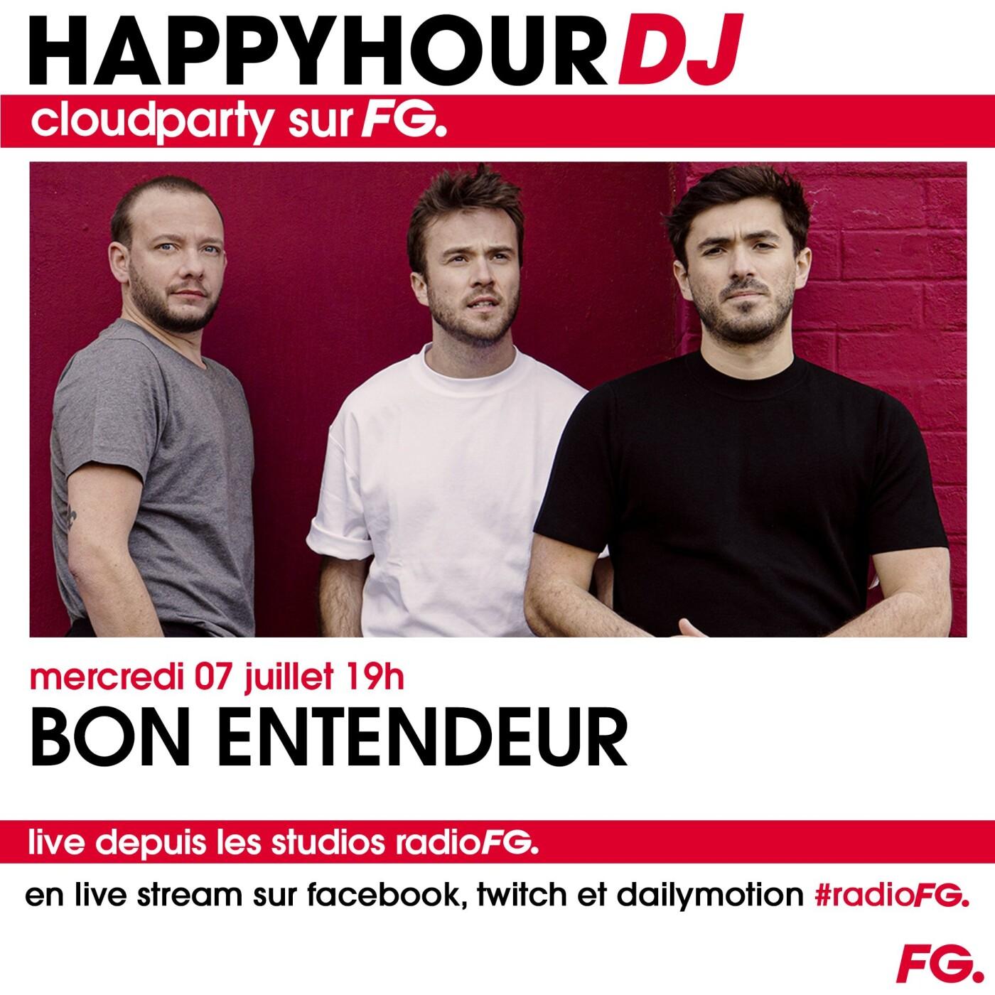 HAPPY HOUR DJ : BON ENTENDEUR