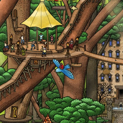 LTTG | Labyrinth City: Pierre the Maze Detective #05 - Un village en pleine forêt cover