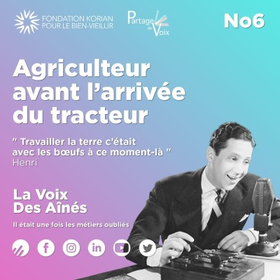 Episode 6 : Agriculteur avant l'arrivée du tracteur cover