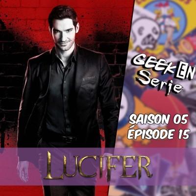 Geek en série 5x15: Lucifer cover